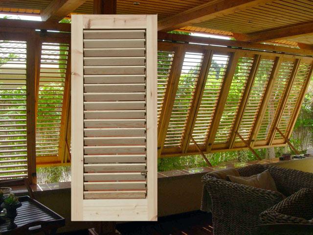 Persianas y puertas miquel sidamon lleida for Porticones madera exteriores